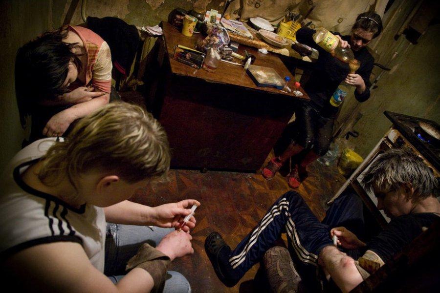 34-летний безработный москвич организовал всвоей квартире наркопритон