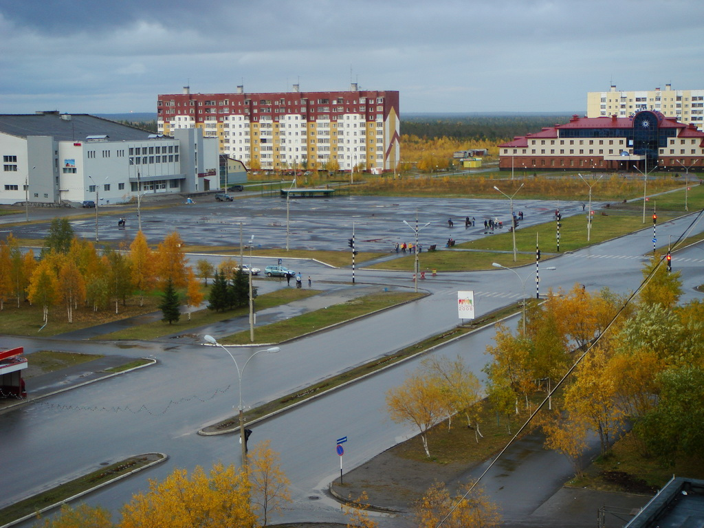 В Усинске столб упал вместе с электриком - Усинск Онлайн
