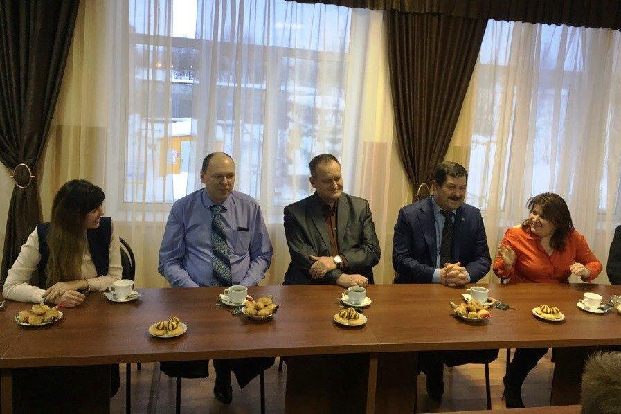 Станислав Хахалкин встретился со студентами техникума ...
