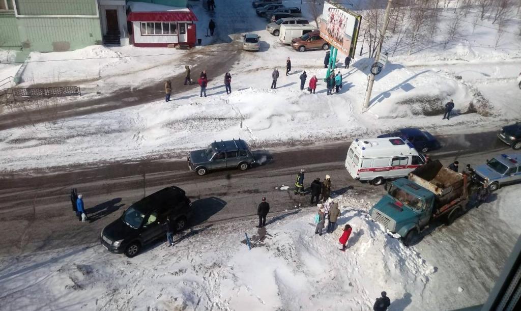 В Усинске сегодня сбили ребенка - Усинск Онлайн
