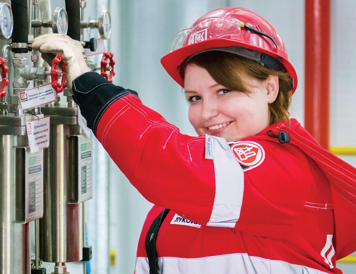 Компания «Лукойл» увеличила добычу нефти впервом полугодии