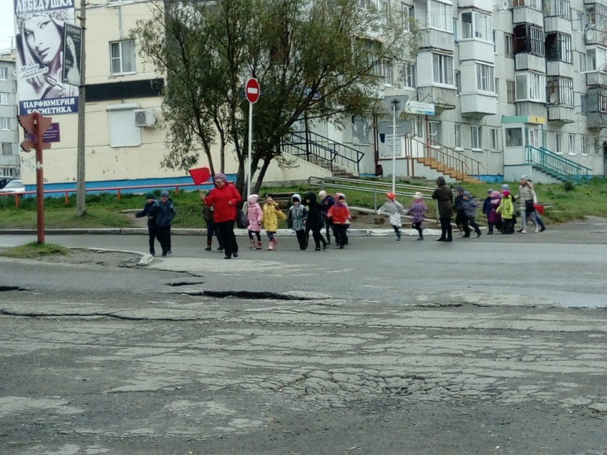 Усинских детей подвергли опасности на дороге - Усинск Онлайн